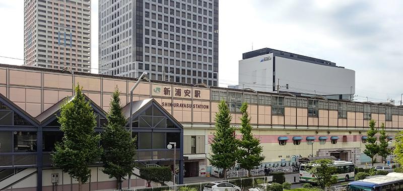 新浦安駅の外観