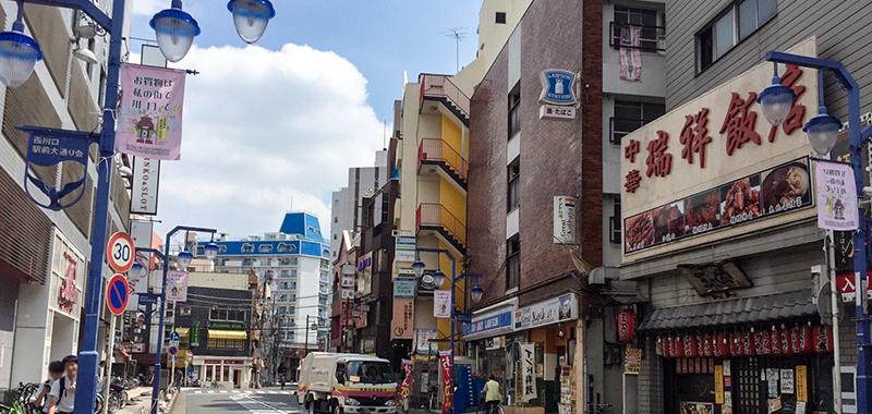 西川口駅の外観