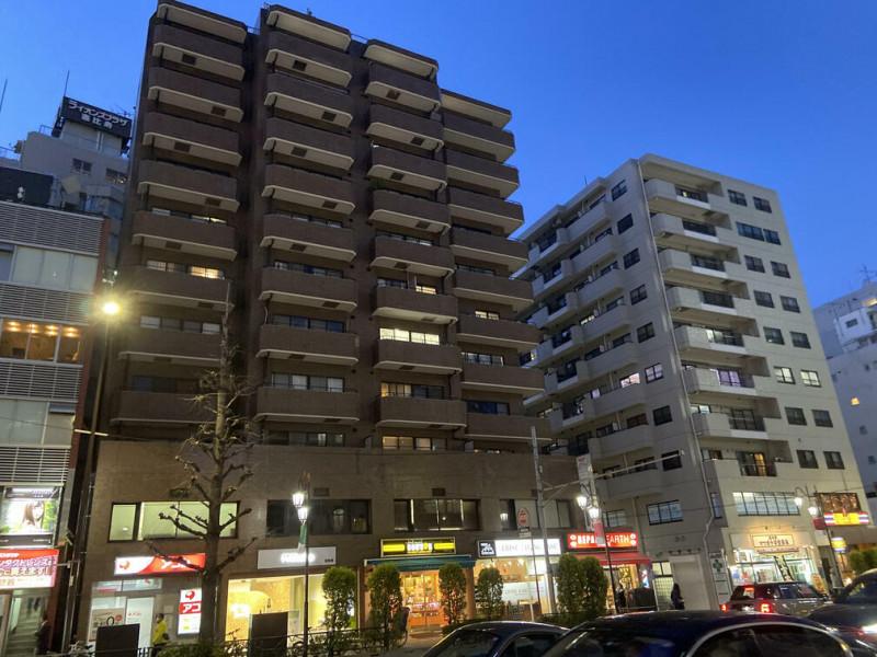恵比寿駅前のマンション