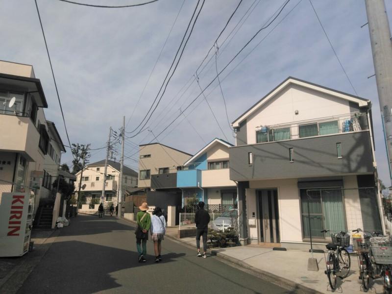 白楽駅周辺の戸建て住宅街