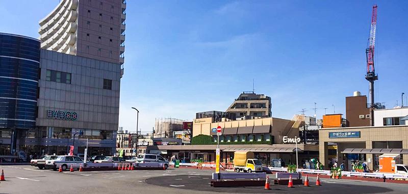 ひばりヶ丘駅の外観