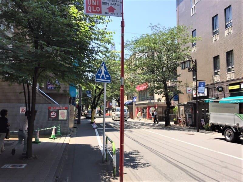 成城学園前駅 周辺の様子