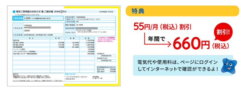 検針票不要で年間660円安くなる