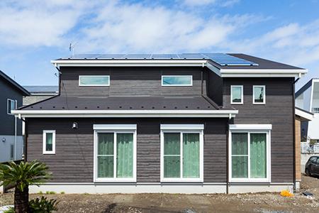 実例3 全館空調の快適さと開放感のある家