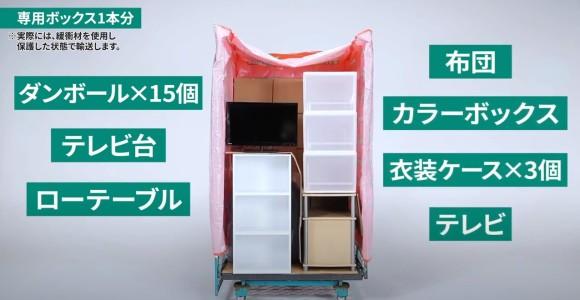 専用ボックス(ヤマトホームコンビニエンス_クロネコヤマトの引越しサービス)