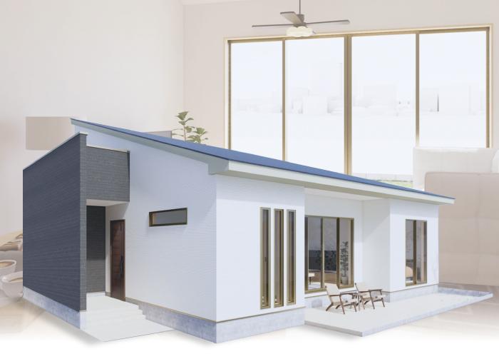 アイダ設計 オープンテラスのある平屋