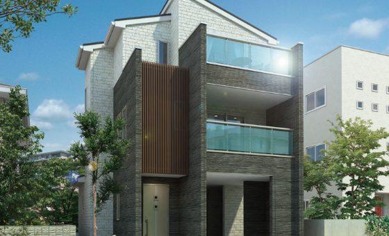 3階建て住宅